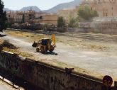 Ahora Murcia denuncia el trabajo de maquinaria pesada para la llegada del AVE a Murcia