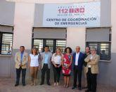 El Ayuntamiento de San Javier renueva su convenio  sobre el 1-1-2 Región de Murcia con la Comunidad Autónoma