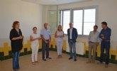 La Comunidad realiza obras de mejora en tres centros educativos de Las Torres de Cotillas