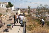 El Ayuntamiento restaura el patrimonio natural de la ladera sur del Castillo de Nogalte