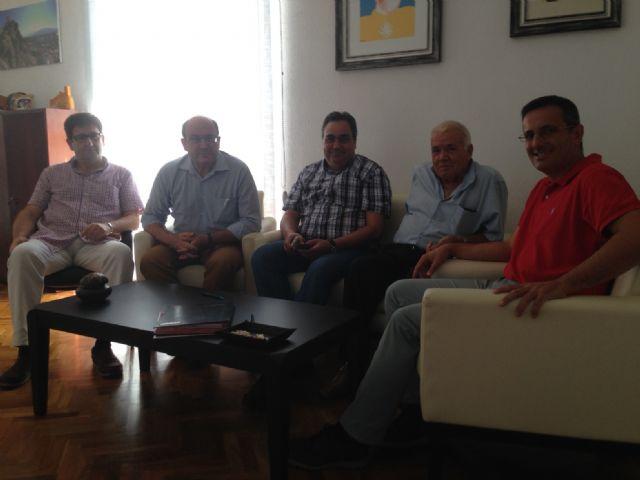 Encuentro de CEBAG con el alcalde de Alhama