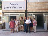 Educación invierte más de 33.000 euros en obras del colegio Juana Rodríguez de Moratalla