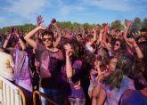 La 'Holi Festival' llena de color y diversión las fiestas de Las Torres de Cotillas