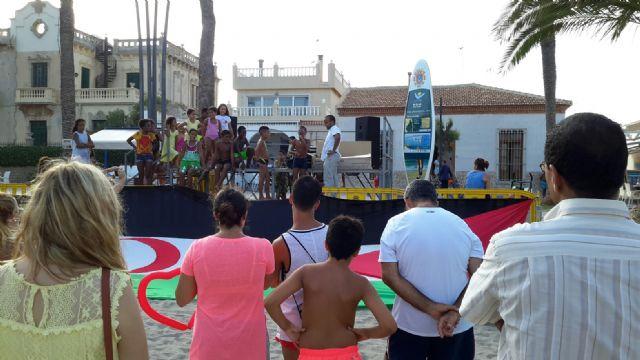 Santiago de la Ribera acogió una jornada de convivencia del centenar de niños saharauis que pasan el verano acogidos por familias murcianas - 2, Foto 2