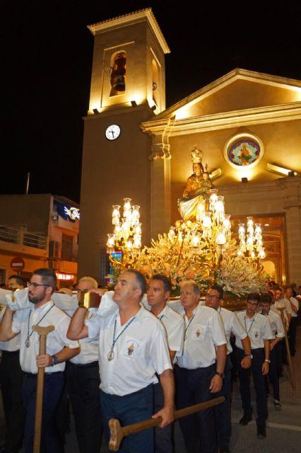 La quema del Raspajo pone punto y final a las fiestas de Las Torres de Cotillas - 1, Foto 1