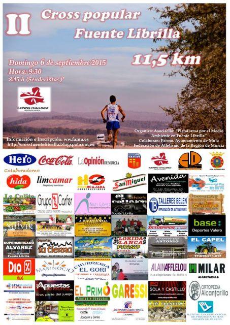 Últimos días para inscribirte en el II Cross Popular 11,5km. de Fuente Librilla - 1, Foto 1