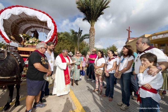 Treinta y cinco kilómetros de devoción en la Romería de San Ginés de la Jara - 1, Foto 1