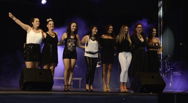 El concierto Ellas reúne en el escenario a ocho de las mejores voces femeninas aguileñas - 1, Foto 1