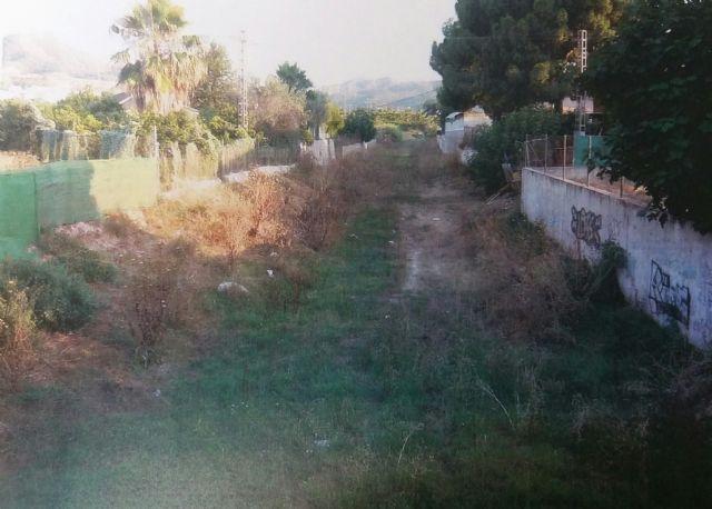 El PSOE denuncia la falta de mantenimiento de las ramblas de la Cordillera Sur y exige que se limpien en previsión de una posible gota fría - 4, Foto 4