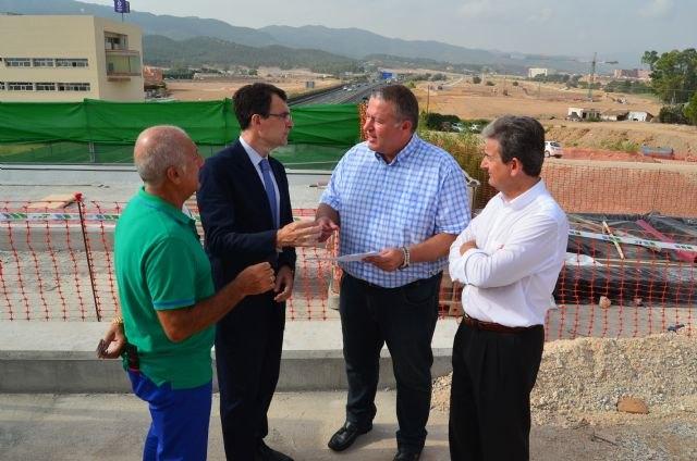 El nuevo tramo de la Costera Sur de Murcia mejorará el tránsito en 72.000 desplazamientos diarios entre San Ginés y La Alberca - 1, Foto 1