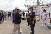Pedro Antonio Sánchez subraya que el buque escuela ´Cuauhtémoc´ de la Armada mexicana 'es un ejemplo de unidad entre naciones'