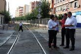 Bernabé afirma que 'la llegada de la Alta Velocidad a Murcia y su extensión a Lorca es la solución a las vías del tren en Alcantarilla'