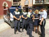 La Policía Local de Lorca detiene, con la colaboración de la Guardia Civil, a tres hombres por robo con fuerza en viviendas y vehículos