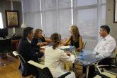 El nuevo Valle de Leiva, tema central de la reuni�n con la consejera de Educaci�n