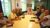 El Alcalde se reúne con la Plataforma en Defensa de la Sanidad Pública de la Región de Murcia 'SALVEMOS EL ROSELL'