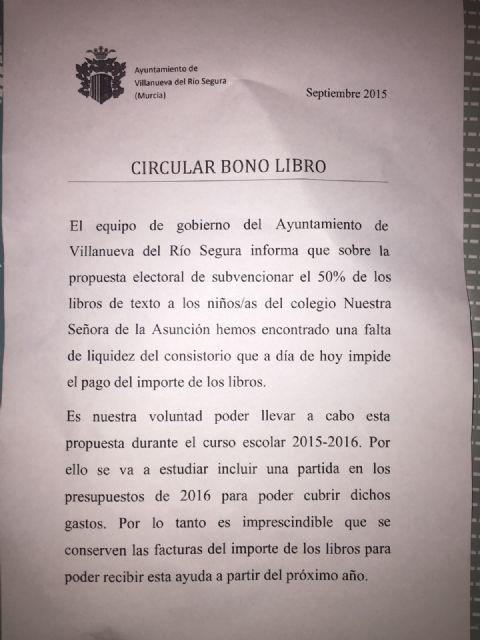 El PP denuncia que el PSOE falta el respeto a los padres de los escolares - 1, Foto 1