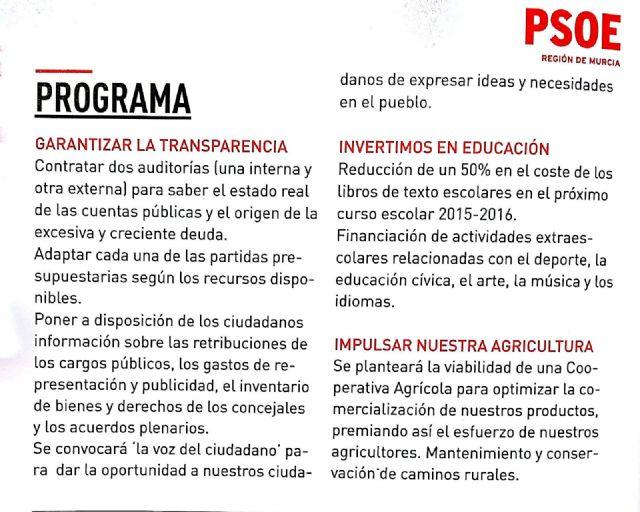 El PP denuncia que el PSOE falta el respeto a los padres de los escolares - 2, Foto 2