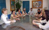 El Alcalde de Alcantarilla se reúne con la Asociación de Familiares de Enfermos de Salud Mental en Alcantarilla