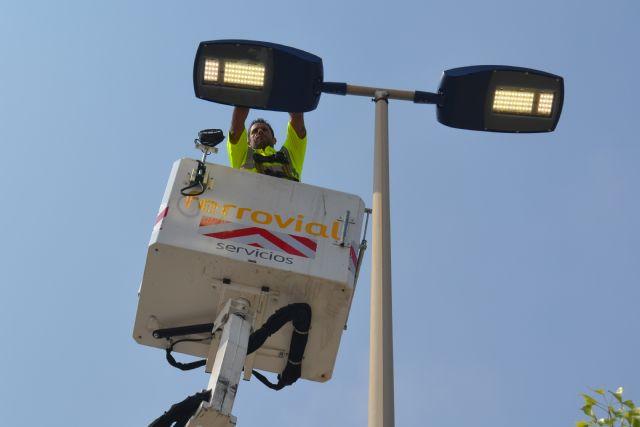 La instalación de nuevas luminarias reduce un 60,6% el consumo eléctrico en la principal vía del municipio - 1, Foto 1