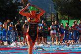 La joven alguaceña Natalia Hidalgo, toda una campeona en triatlón