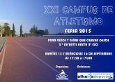 El Club Atletismo Alhama celebrar� la vig�sima primera edici�n de su tradicional campus