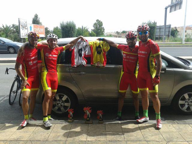 Four new podiums for Santa Eulalia CC