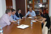 Alcaldes y concejales de Molina de Segura, Archena, Alguazas, Ceutí y Lorquí muestran su preocupación por el estado actual de la ribera del Río Segura