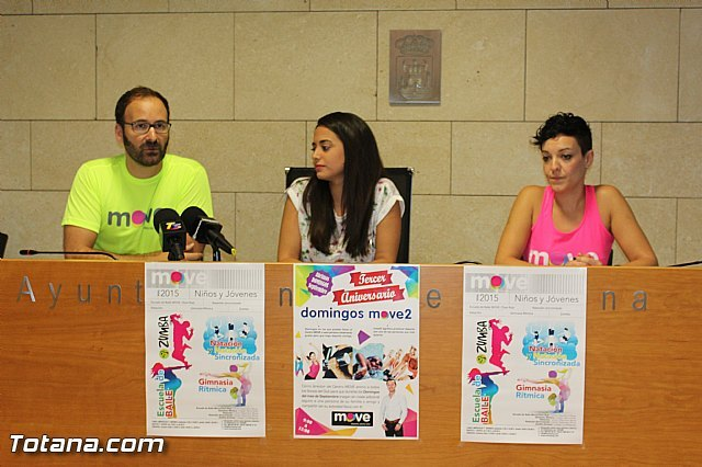 MOVE introduces the new program of activities and developments for the 2015/16 season coinciding with the third anniversary