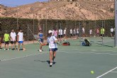 Se inician las clases en la Escuela del Club de Tenis Totana