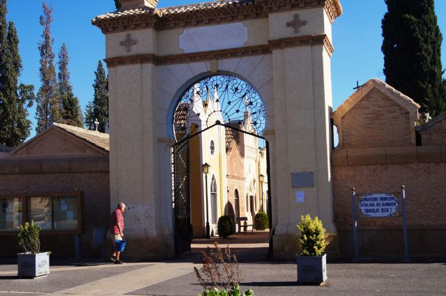 """This Friday morning will close to the public the Municipal Cemetery """"Nuestra Señora del Carmen"""" for maintenance in the cemetery"""
