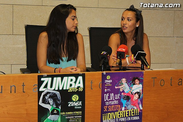 """The gym of """"Jail"""" and sports facilities Paretón have a program of """"Zumba Fitness"""" and """"Zumba Kids Jr"""""""
