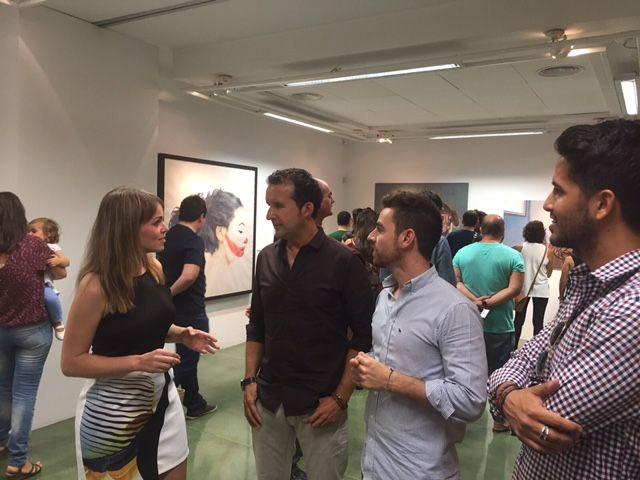 Las obras de Gloria Lapeña  y Martín Romero ganadoras del CreaMurcia de Artes Plásticas y Cómic  2015 - 1, Foto 1