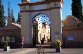 El Cementerio Municipal 'Nuestra Señora del Carmen' permanece cerrado hoy, de 8:00 a 14:00 horas, por trabajos de mantenimiento