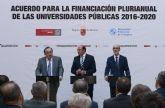 La Universidad de Murcia 'satisfecha' por el acuerdo de financiación alcanzado