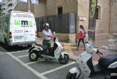 La Semana Europea de la Movilidad permite a los murcianos probar las bondades de las motocicletas eléctricas