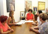 El Ayuntamiento y AMEL firman un convenio para fomentar la actividad empresarial en Puerto Lumbreras