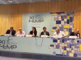 El alcalde de Cieza, elegido en Madrid secretario de la Mesa de Cohesión Social de la FEMP