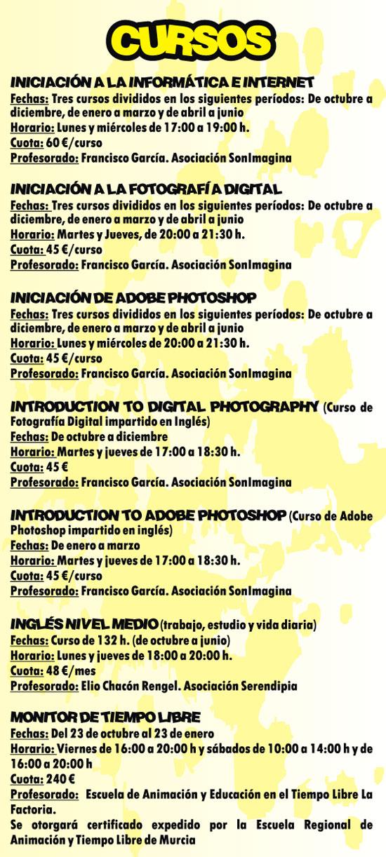 La oferta formativa del programa La Cárcel Formación, que se desarrolla desde octubre a junio del 2016, ofrece 34 actividades - 4, Foto 4