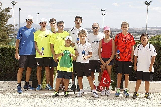El Torneo Apertura de la Escuela de Tenis del Club de Tenis Totana anota todo un éxito de participación y nivel de juego - 1, Foto 1