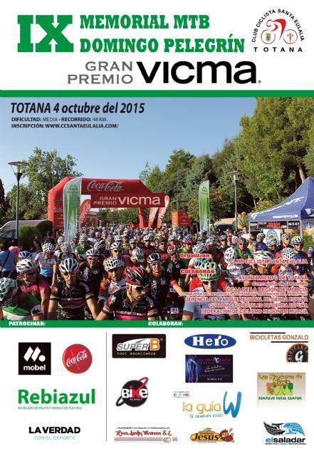 El IX Memorial MTB Domingo Pelegrín se celebra el próximo 4 de octubre por sendas y pistas forestales de Sierra Espuña - 3, Foto 3