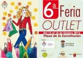 El plazo de presentación de solicitudes para los comercios que quieran participar en la VI Feria Outlet de Totana finaliza el próximo 2 de octubre