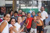 300 niños participan en las actividades del Día sin coche
