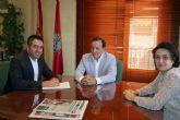 El Decano de los Ingenieros Técnicos de Obras Públicas e Ingenieros Civiles, ofrece el apoyo del Colegio para las infraestructuras de Alcantarilla