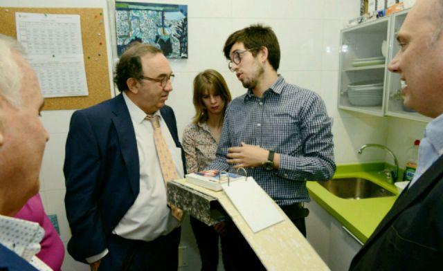 El rector inaugura el curso del centro de viviendas compartidas de Fundown - 2, Foto 2