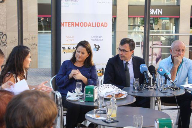 El Alcalde comparte un desayuno con vecinos para hablar sobre Murcia - 3, Foto 3