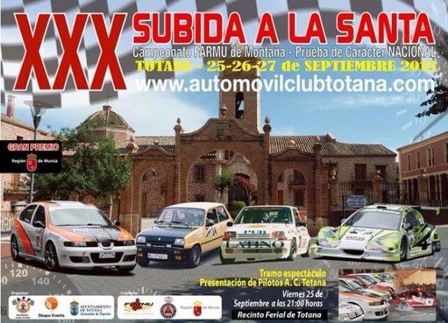 La XXX Subida a La Santa ya calienta motores para este fin de semana - 1, Foto 1