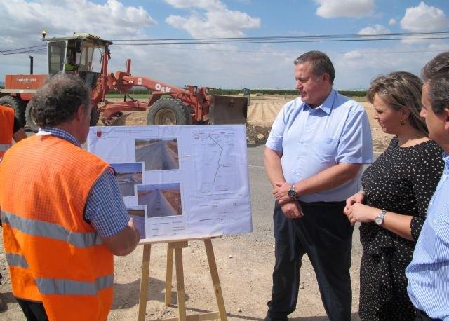 Las obras de mejora de la carretera que une Torre Pacheco con Balsicas concluirán antes de final de año - 1, Foto 1