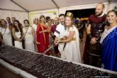 Los niños también tuvieron desfile en Carthagineses y Romanos