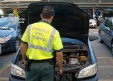 La Guardia Civil detiene a una mujer que conducía con un carnet robado