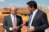 Encuentro del Alcalde de Alcantarilla, Joaquín Buendía, con el Consejero de Hacienda y Administración Pública, Andrés Carrillo